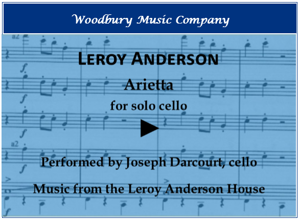 Arietta by Leroy Anderson performed by Joseph Darcourt