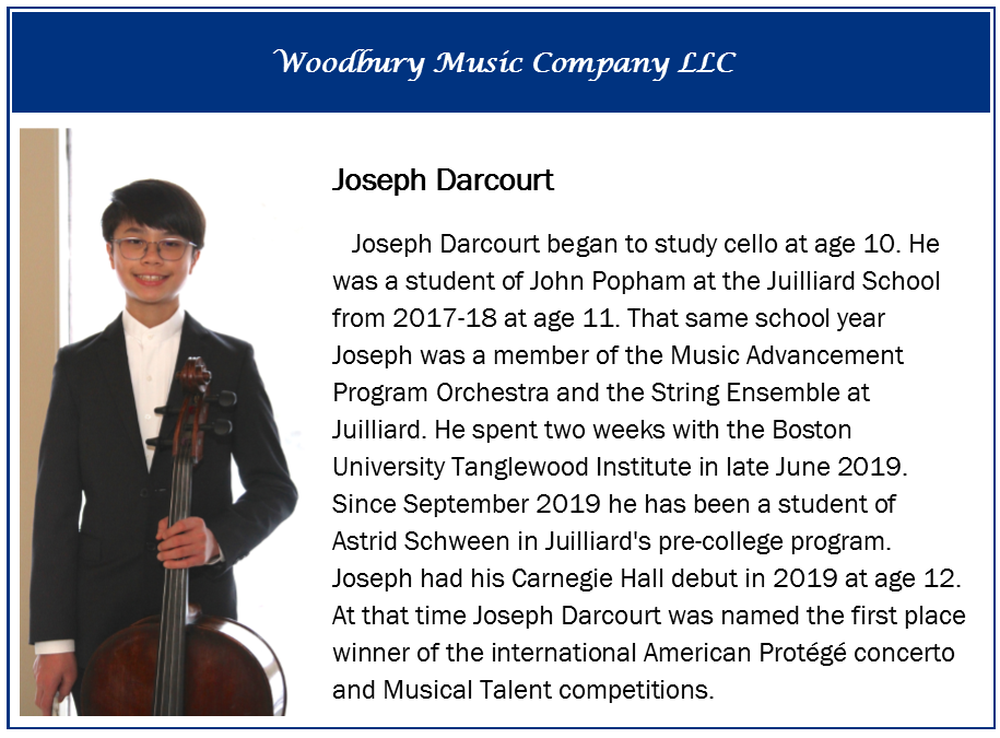 Joseph Darcourt, cellist